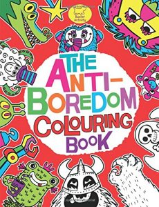 Anti -Boredom Colouring Book £5