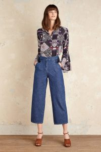 Image of Anthropologie wide-legged jeans