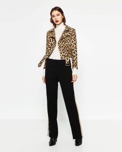 Image of Zara leopard print jacket