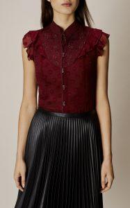 Image of karen Millen Victoriana blouse