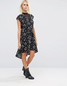 Image of a Dark Floral dress