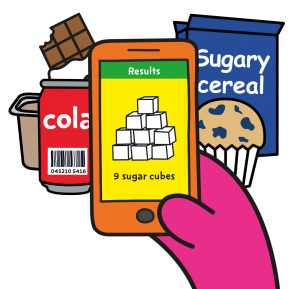 Image of the Sugar Smart app