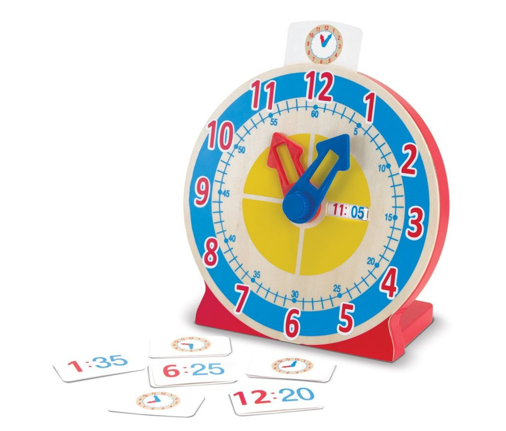 melissa and doug toy clock