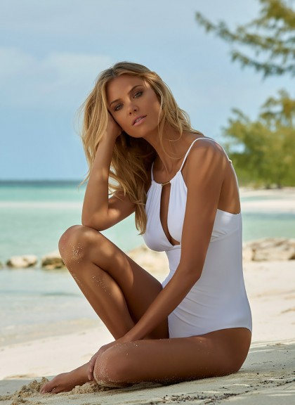 Melissa Odabash swimsuit in white