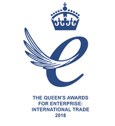 Logo for Queen's Award